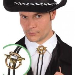 Collar cowboy del oeste vaquero