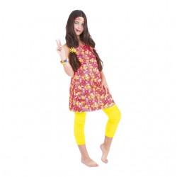 Disfraz hippie para mujer completo