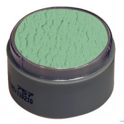 Maquillaje verde 406 grimas profesional al agua 15 ml