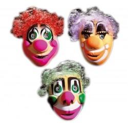 Mascaras payaso diabolico surtidas unidad