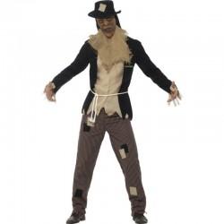 Disfraz espantapajaros goosebumps para hombre talla l halloween