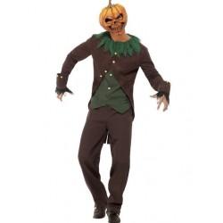 Disfraz calabaza siniestra goosebumps para hombre talla l halloween