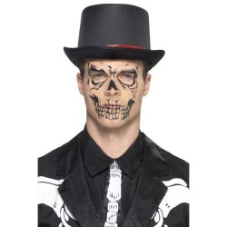 Tatuajes calcamonias esqueleto para halloween
