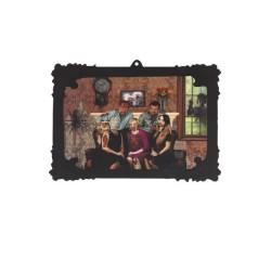 CUADRO 3D LENTICULAR FAMILIA ZOMBIE 44 X 31 CM