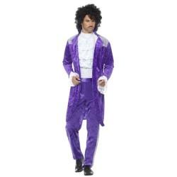 Disfraz musico de los 80 similar a prince talla l