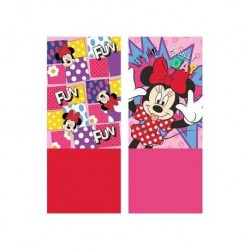 BRAGA CUELLO POLAR MINNIE MOUSE ROJA