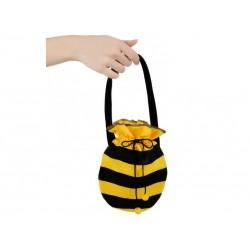 Bolso abeja rayas negras y amarillas