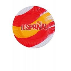 PLATOS CARTON ESPANA 8 UDS SELECCIoN ESPANOLA