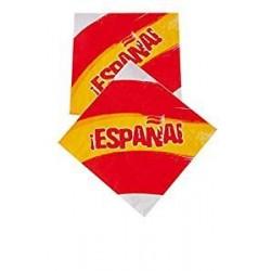 SERVILLETAS CARTON ESPANA 8 UDS SELECCIoN ESPANOLA
