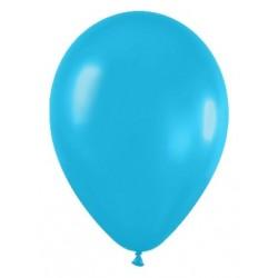 Globo azul caribe serpentex 100 unidades r5 125 cm