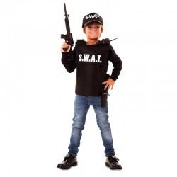 CHALECO SWAT INFANTIL PARA NINO TALLAS