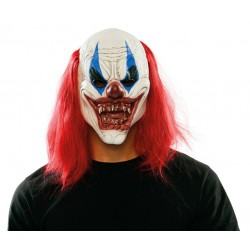 Mascara payaso diabolico latex