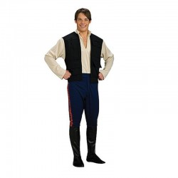 Disfraz Han Solo hombre adulto talla estandar