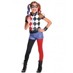 Disfraz Harley Quinn nina Super hero Girls infantil