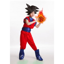 Disfraz ninja similar a goku nino talla 8 10 anos