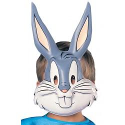 Mascara Bugs Bunny infantil para nino de PVC