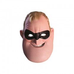Careta Mr Increible Bob Parr de los Increibles carton