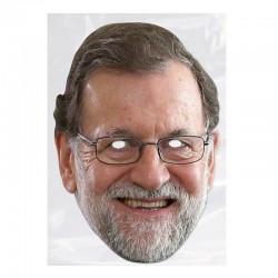 Careta carton Mariano Rajoy unidad