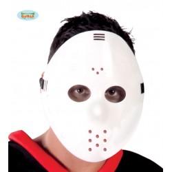 Mascara Jokey blanca similar a Jason viernes 13