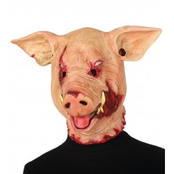 Mascara Cerdo terror similar al de SAW