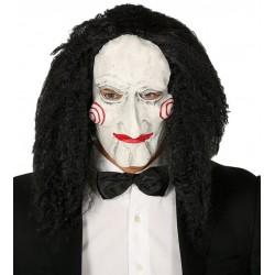 Mascara marioneta con pelo parecida a SAW