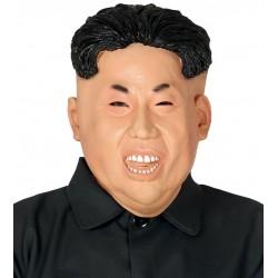 Mascara presidente coreano King Jong Un