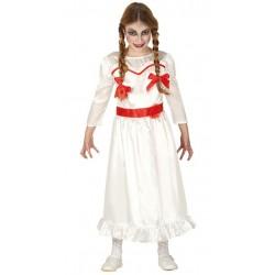 Disfraz muneca anna poseida para nina tallas infantil