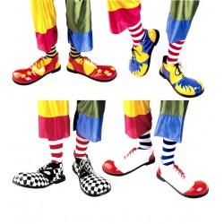 Zapatos gigantes de payaso profesionales colores surtidos