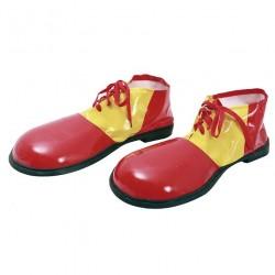 Zapatos de payaso rojos deluxe