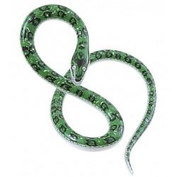 Serpiente hinchable de 152 cm verde