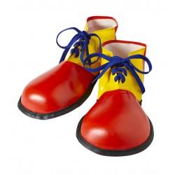 Zapatos gigantes de payaso para adulto talla unica