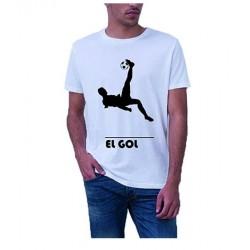 nforprint Camiseta chilena el Gol Champions Para Hombre