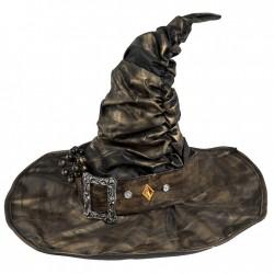 Sombrero Bruja cobrizo envejecido extra deluxe