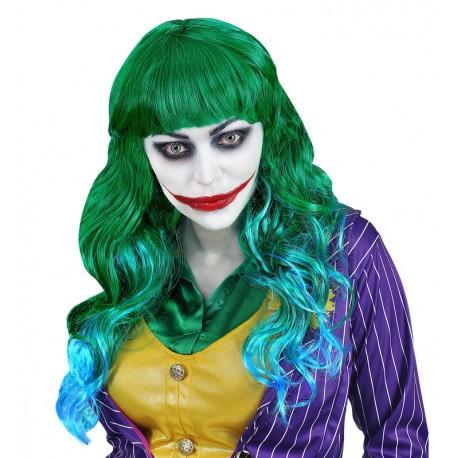 Peluca verde con flequillo para mujer Joker - Tusdisfracesbaratos.com ea2e8aeb987b
