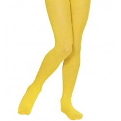 Medias amarillas para nina pantys infantiles