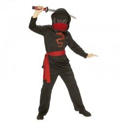Disfraz ninja sin rostro para niño tallas infantil