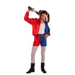 Disfraz animadora asesina Harley para nina 8 10 anos