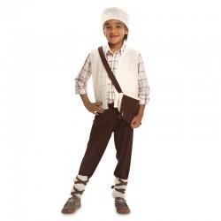 Disfraz pastorcillo blanco de 1 a 2 anos infantil