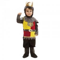Disfraz rey medieval para bebe talla 1 a 2 anos