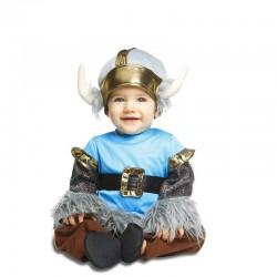 Disfraz vikingo para bebe talla 0 a 6 meses