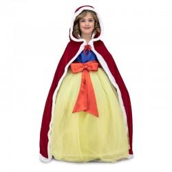 Capa Caperucita Roja para nina con capucha talla unica