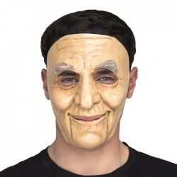 Mascara de abuelo hombre anciano