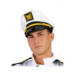 Gorra de capitan de barco para adulto