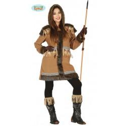 Disfraz esquimal deluxe para mujer tallas