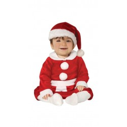 Disfraz Mama Noel para bebe nina navidad