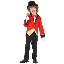 Disfraz presentador de circo domador nino tallas