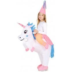 Disfraz unicornio hinchable para nina 7 9 anos