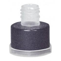 Purpurina negra suelta grimas con aplicador facil