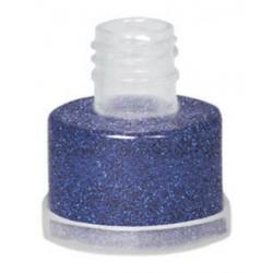 Purpurina azul suelta grimas con aplicador facil
