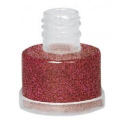 Purpurina roja intensa suelta grimas con aplicador facil